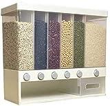 WGFGXQ Contenitore di Grano Parete Seperated cereale Can Rice Storage Box classificazione Metering Rice Cilindro di plastica Automatica Rice .Contenitore di stoccaggio di Cibo Secco