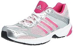 adidas Women's Duramo 4 W Shoes, Silver, 42 EU
