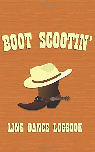 Boot Scootin': Line Dance Logbook (Pocket Edition)