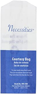 Necessities Feminine Hygiene Courtesy Disposal Bag (Case of 500), Hospeco NEC-500
