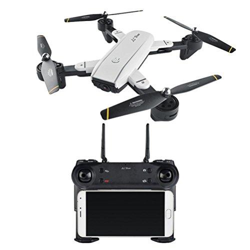 SG700 Quadcopter Drohne 2.4Ghz 4 CH 360 ° WiFi 2.0MP Optischer Flow Dual-Kamera, Höhe halten, Schwerkraft-Betrieb, 360 ° Flip, Headless-Modus, eine Taste zurück, Geschwindigkeitsmodus