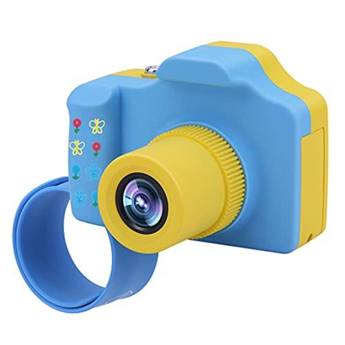 WTALL Cámara Digital para niños Mini videocámara Recargable de 16MP con Ranura MicroSD Compatible con hasta 32G (Tarjeta SD NO incluida)