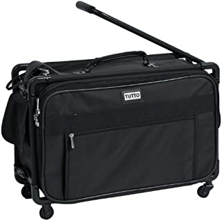 TUTTO 22 Inch Maximizer Carry-On Suiter, Black, One Size