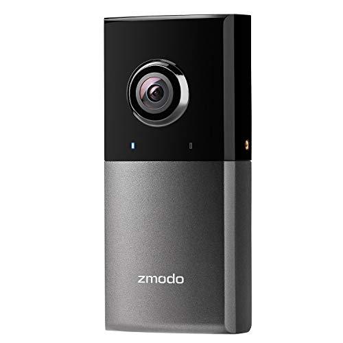 Zmodo Sight 180 Outdoor 1080P Full HD Überwachungskamera, Kabellose IP Wlan Kamera für Aussen mit 180 Grad Weitwinkel