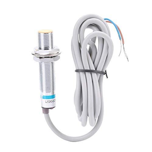 Interruptor de proximidad inductivo, NPN NC Interruptor del sensor de proximidad inductivo de 2 mm DC 2 hilos normalmente cerrado LJ12A3-2-Z/EX Sensor de proximidad