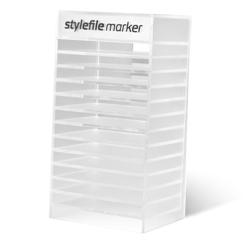 Stylefile Marker Acrylic Empty 120 Display display