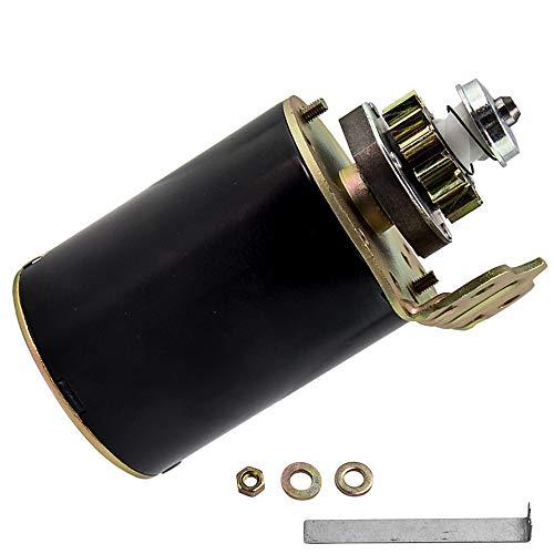 maXpeedingrods Anlasser Starter für John Deere Briggs &Stratton Lawn 12V 14 Zähne