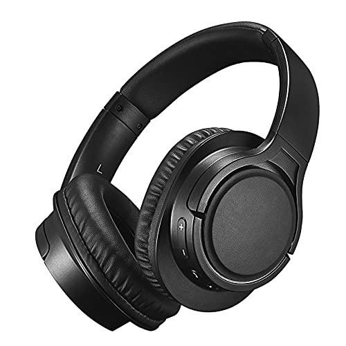Cuffie Wireless Over Ear, Cuffie Wireless 5.0 e Cablate, Auricolari Stereo Hi-Fi Wireless con Microfono, Cuffie Morbide e Leggere, Cuffie Portatili per Cellulare PC TV Lavoro Viaggio