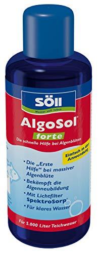Söll 17246 AlgoSol forte - Die schnelle Hilfe bei Algenblüten - 250 ml