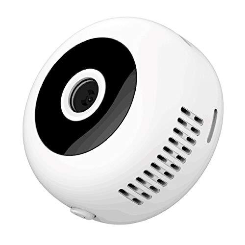 Flytise Mini cámara portátil 1080P IP Night Vi sion Micro CAM Grabadora de Video portátil con Respaldo magnético para Deportes al Aire Libre