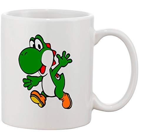 Tasse mit Aufdruck - Modell Vintage Yoshi - Kaffeetasse Becher Teetasse Kaffeebecher