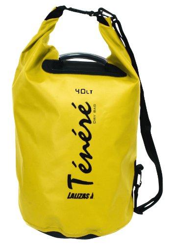 Sacco Mare impermeabile Dry Bag tenere 40litri in colore giallo
