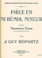 ロパルツ: 小品 変ホ短調/ルデュック社/トロンボーンとピアノ