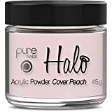 Halo By Pure Nails Acrylic Powder COVER PEACH 45g
