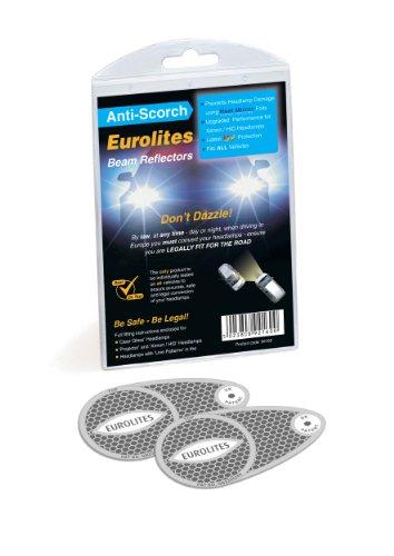 Preisvergleich Produktbild Unbekannt Eurolites N92160 Headlamp Adaptors for Driving in Europe
