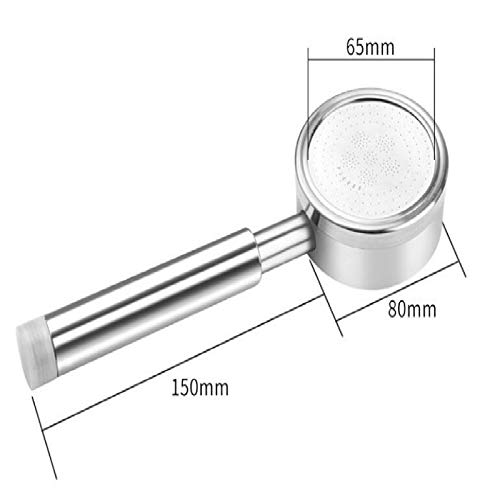 Duschkopf 304 Raum Aluminium Duschkopf Badezimmer Druckverstärker Wassersparender Duschkopf Technisches Isolationsspray Regendüse