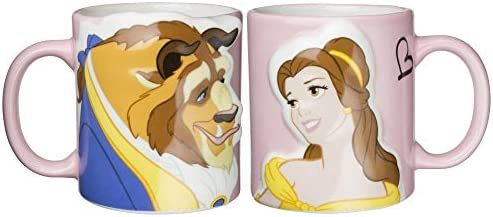 Dd Beauty and the Beast Kiss Pair Mug Cups Japan Import product image