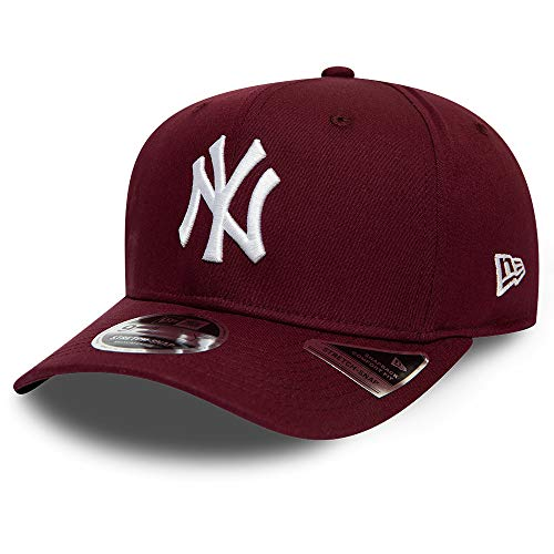 New Era York Yankees Maroon White Tonal Stretch Snapback Cap 9fifty 950 SM