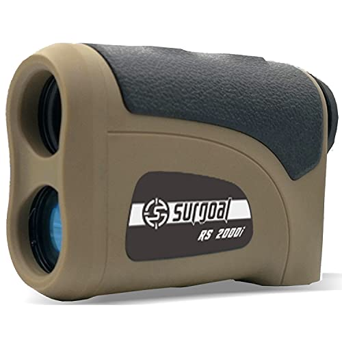 Surgoal HD Waterproof 6X Laser Rangefinder_Max.Range 2000YD Amazing Long Distance_All-Purpose