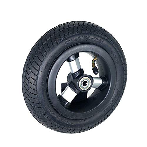 BABYCOW Neumáticos patinetes eléctricos, Ruedas Completas inflables 8 1 / 2X2, Resistentes...