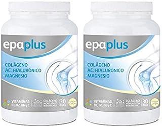 Epaplus Articulaciones  Colágeno + Ácido Hialurónico + Magnesio Duplo-2x30 Días (2x332 gramos. sabor vainilla)
