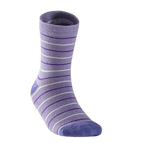 Chaussettes de randonnée à séchage Rapide pour Les Sports de Plein air pour Enfants, Chaussettes de randonnée Confortables pour Enfants, Absorbant l'humidité (Color : B, Taille : XS)