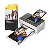 """Kodak Dock Premium 4x6"""" Portable Instant Photo Printer (2021 Edition) Bundled with 50 Sheets 