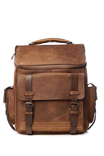 VELEZ Leather Backpack Archaeology - Vintage Leather Rucksack