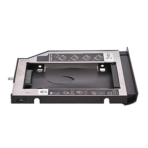 Socobeta Hard Drive Optical Bay Caddy HDD SSD Enclosure Hard Disk DVD Adapter for Laptop