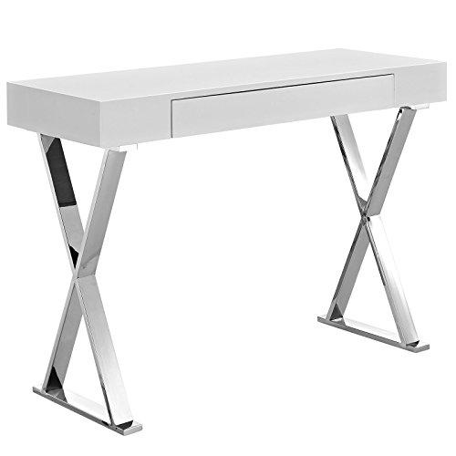 Modway MO- Desk, Console Table, White