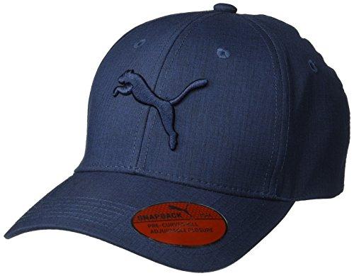 PUMA Men's Evercat Icon Snapback Cap, Navy, One Size