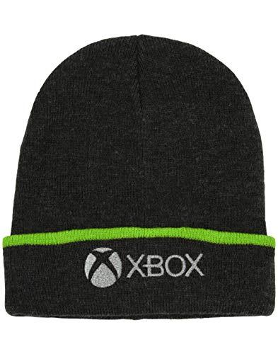XBOX Beanie Hat for Kids & Teens Charcoal Woolly cap Gamer Gift