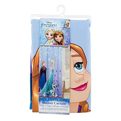 Jay Franco Disney Frozen Duschvorhang, 183 x 183 cm