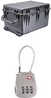 Equipment Case with Foam and TSA Lock
