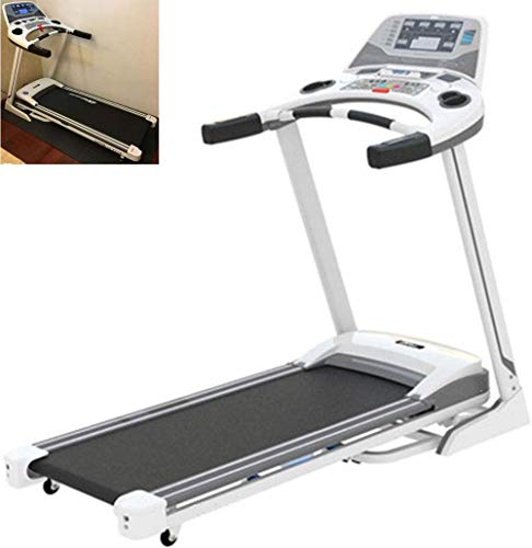 WRJY Walking Machine, Treadmill, Home Silent Shock Absorption Indoor Folding Electric Gym Dedicated Walking Machine Jogging Machine, Ultra Thin and Silent