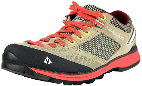 Vasque Women's Grand Traverse Hiking Shoe,Aluminum/Hot Coral,9 M US