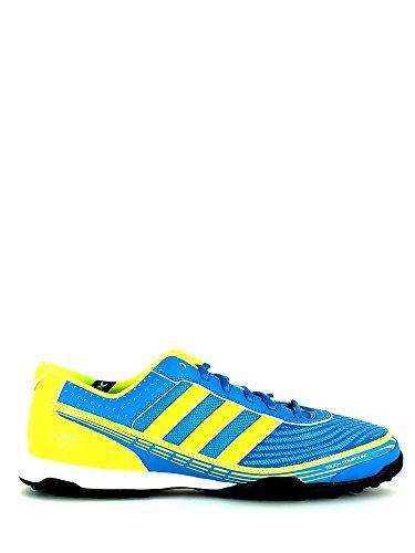 Adidas Adi5 - Botas de fútbol para césped sintético, (azul), 47 1/3 EU