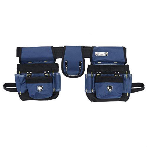 Bolsa de herramientas 23 en 1 bolsillo de la cintura, bolsa de herramientas para cinturón bolsa de herramientas kit de destornillador, organizador de herramientas