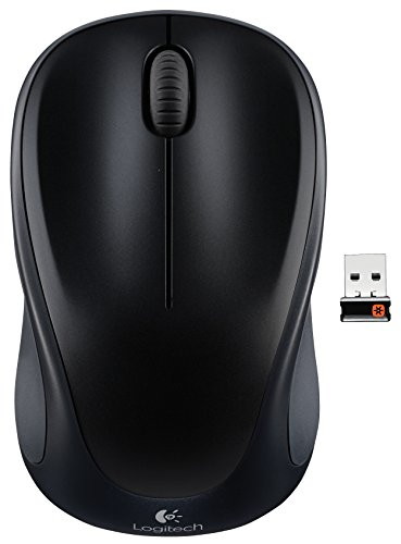 Logitech Wireless Mouse w/ Unifying Receiver (Black) - $9.99