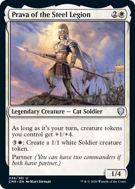 Magic: The Gathering - Prava of The Steel Legion - Commander Legends
