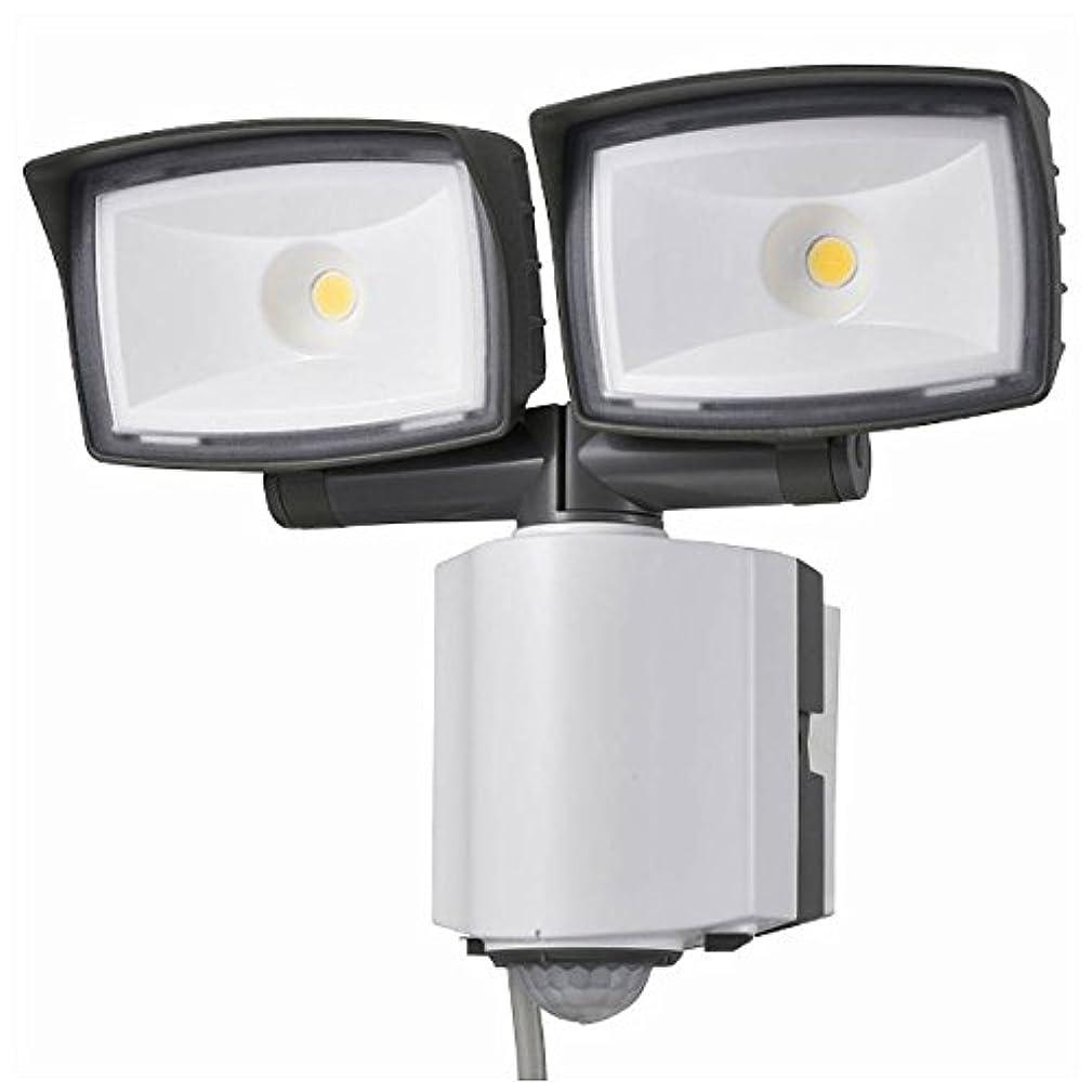 混沌盆区オーム電機 センサーライト 白 サイズ:25.3×12.4×25.8cm