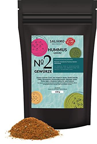 100g Hummus Gewürzmischung orientalische Hummus Gewürzzubereitung mit Koriander Cumin Knoblauch Paprika Sesam Chilies