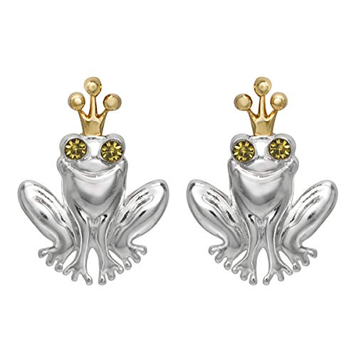 Disney's The Princess and the Frog Earrings, Sterling Silver with...