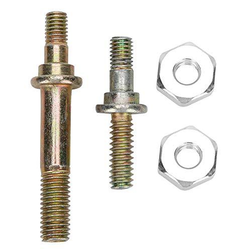 Kit de tuercas de tornillo, cubierta de rueda dentada de cadena Kit de tuercas de tornillo de perno de amortiguación para Stihl 029039 MS310 MS390 MS290 Sierra de cadena