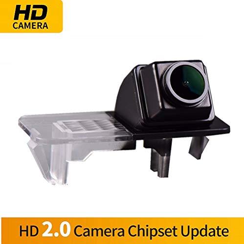 Farbkamera Wasserdicht Rückfahrkamera kennzeichenbeleuchtung Kamera KFZ Rückfahrsystem mit Einparkhilfe Nachtsicht für Mercedes Benz Smart R300/R350/Fortwo/Smart ED/Smart 451/Smart fortwo
