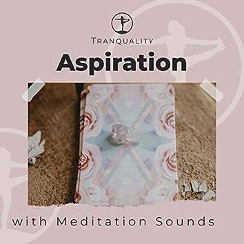Awareness of Aspiration with Meditation Sounds