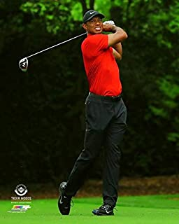 Tiger Woods 2019 Masters Final Round Photo (Size: 8