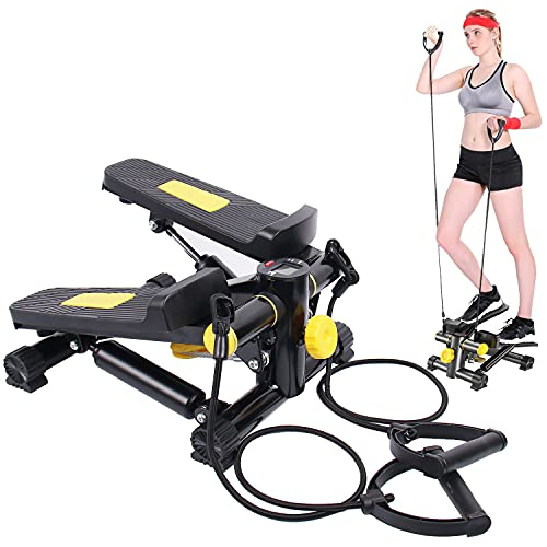 Mini Stepper for Exercises, Eazylife Leg Foot Pedal...