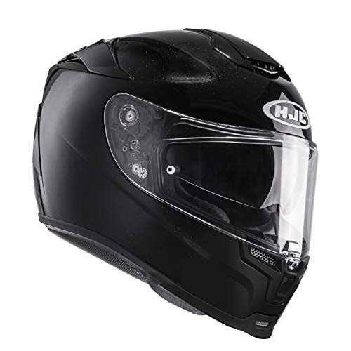 HJC Helmets Motorradhelm RPHA 70 Uni, Schwarz, Größe S