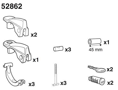 Thule 52862 SquareBar Adapter Kit für FreeRide-THULE